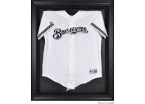Milwaukee Brewers Jersey Display Case Cabinet Style