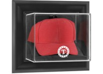Texas Rangers Baseball Cap Display Wall Mount