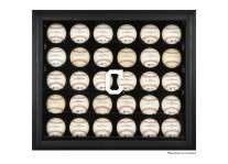 Cleveland Indians 30 Baseball Ball Display Case