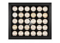 Colorado Rockies 30 Baseball Ball Display Case