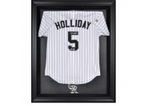 Colorado Rockies Jersey Display Case Cabinet Style