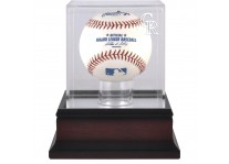 Colorado Rockies Mahogany Baseball Ball Display Case