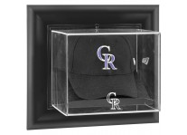 Colorado Rockies Baseball Cap Display Wall Mount
