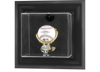 Colorado Rockies Baseball Ball Display Case Wall Mount