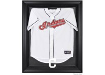 Cleveland Indians Jersey Display Case Cabinet Style