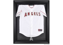Los Angeles Angels Jersey Display Case Cabinet Style