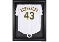 Oakland Athletics Jersey Display Case Cabinet Style