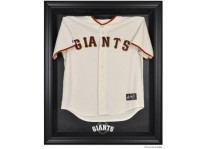 San Francisco Giants Jersey Display Case Cabinet Style
