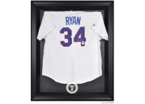 Texas Rangers Jersey Display Case Cabinet Style