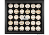 Houston Astros 30 Baseball Ball Display Case