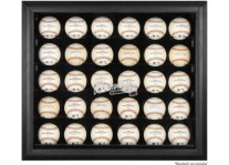 Atlanta Braves 30 Baseball Ball Display Case
