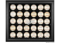 Baltimore Orioles 30 Baseball Ball Display Case