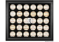 Detroit Tigers 30 Baseball Ball Display Case