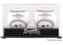 Atlanta Braves Double Baseball Ball Case