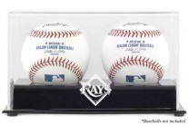 Tampa Bay Rays Double Baseball Ball Case
