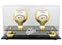 Baltimore Orioles Double Baseball Ball Holder
