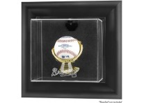 Atlanta Braves Baseball Ball Display Case Wall Mount