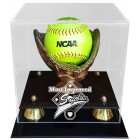 Most Improved Softball Display Case