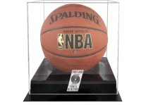 Portland Trail Blazers Basketball Ball Case Black Acrylic ...