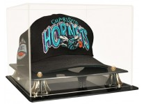 Basketball Cap Display Case With Risers