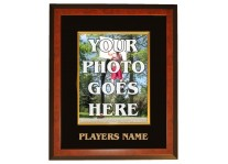 Ready-Made 8x10 Basketball Frame W/ Engraved Players Name