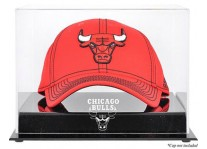 Chicago Bulls Basketball Cap Display Case