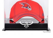 Atlanta Hawks Basketball Cap Display Case