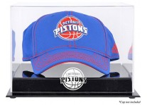 Detroit Pistons Basketball Cap Display Case