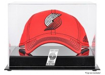 Portland Trail Blazers Basketball Cap Display Case