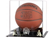 Sacramento Kings Basketball Ball Display Case