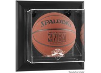 New York Knicks Framed Wall Mount Basketball Ball Case