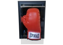 Boxing Glove Display Case Wall Mount - Vertical