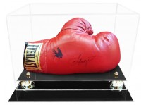 Boxing Glove Display Case With Risers, Horizontal