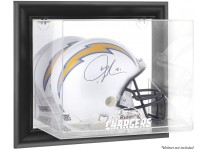 Los Angeles Chargers Wall-Mounted Helmet Display Case