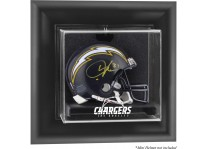 Los Angeles Chargers Wall Mounted Mini Helmet Display Case