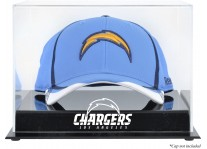Acrylic Cap Display Case With Los Angeles Chargers Logo
