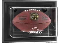 Los Angeles Chargers Wall Mount Football Ball Display Case