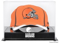 Acrylic Cap Display Case With Cleveland Browns Logo