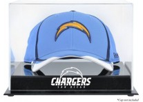 Acrylic Cap Display Case With San Diego Chargers Logo