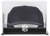 Acrylic Cap Display Case With NFL Shield Logo