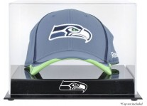 Acrylic Cap Display Case With Seattle Seahawks Logo