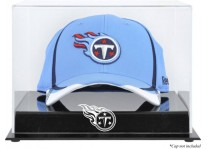 Acrylic Cap Display Case With Tennessee Titans Logo