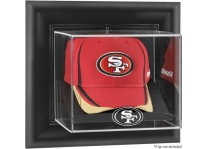 San Francisco 49ers Wall Mounted Cap Display Case