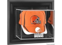 Cleveland Browns Wall Mounted Cap Display Case