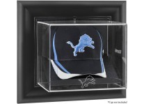 Detroit Lions Wall Mounted Cap Display Case