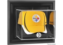 Pittsburgh Steelers Wall Mounted Cap Display Case