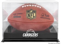 San Diego Chargers Black Base Football Ball Case