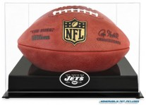 New York Jets Black Base Football Ball Case