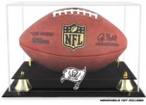 Tampa Bay Buccaneers Classic Football Ball Display Case