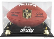 San Diego Chargers Classic Football Ball Display Case